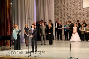 Павел Суслов поздравляет всех участников калуга
