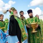 Освящение Поклонного креста мещовск