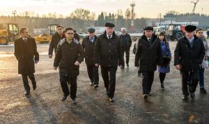 """Рабочая поездка губернатора на территорию аэропорта """"Калуга"""" калуга"""