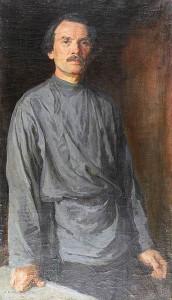 Афанасий Куликов. Автопортрет (1934 год). калуга