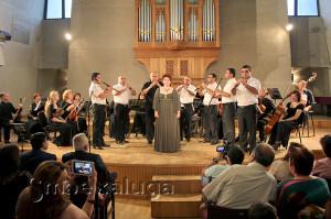 Муниципальный камерный оркестр и Елена Шумаева калуга