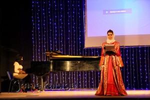 Ферида Ибрагимова читает свои стихи калуга