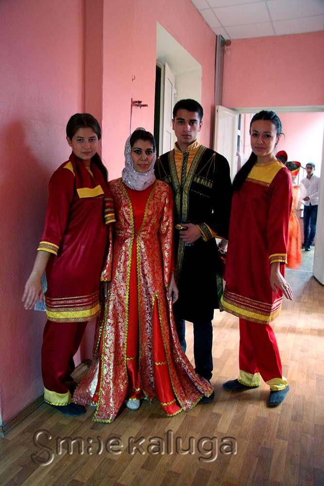 В Областном молодёжном центре прошёл День культуры Дагестана, посвященный 155-летию прибытия Шамиля в Калугу