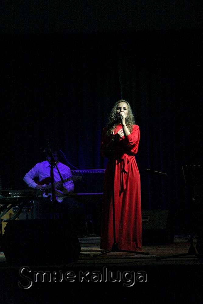 В Калужском Доме музыки прошёл первый совместный концерт «Jazzatov Band» и Анастасии Бирюковой