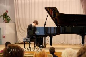 Первый в Калуге концерт Лукаса Генюшаса калуга