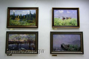 В галерее Л. Климентовской калуга