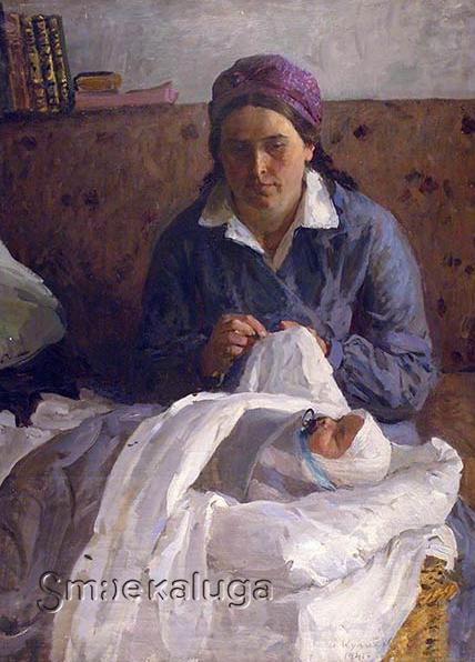 «Молодая мать» А. Куликова — новая выставка одной картины в Калужском музее изобразительных искусств
