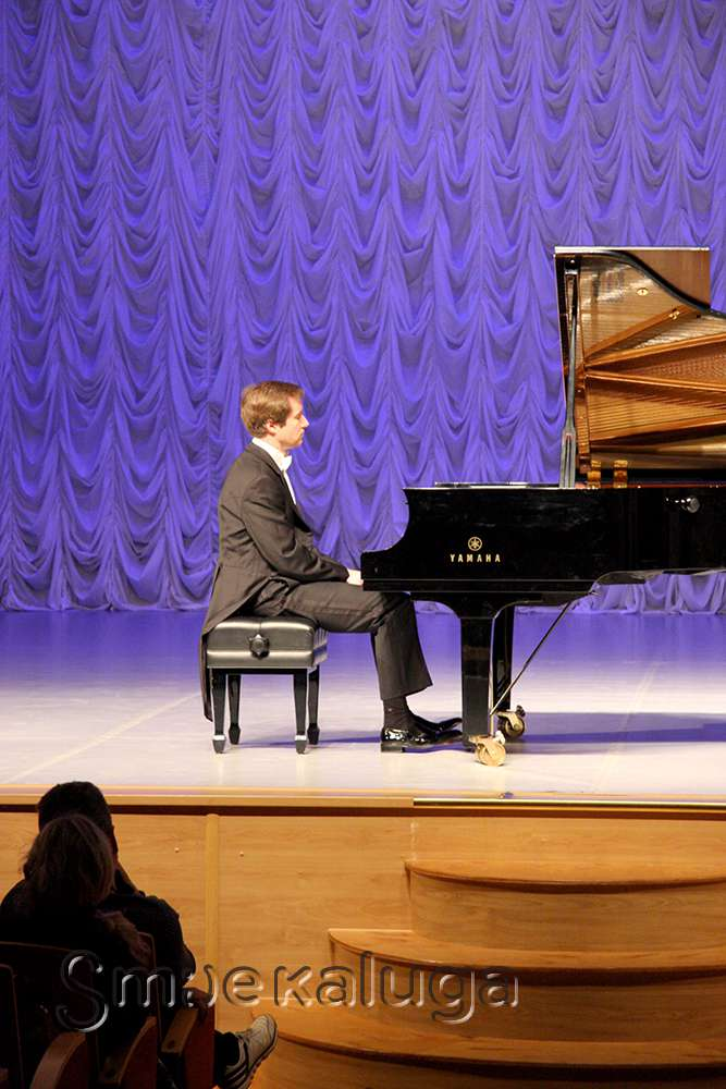 Калужская областная филармония открыла юбилейный сезон концертом Николая Луганского