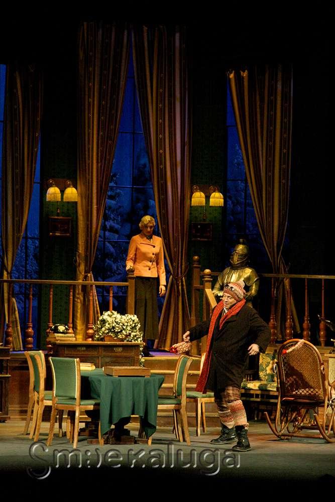 В репертуаре Калужского драматического театра появилась «Мышеловка»