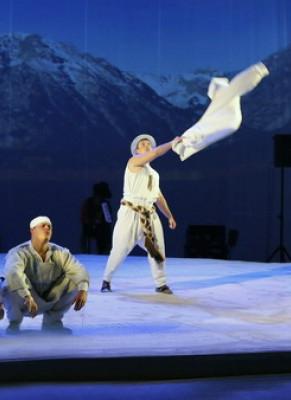 Спектакль «Попытка полёта» в Калужском областном драматическом театре