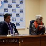 Светлана Дружинина и Павел Суслов калуга