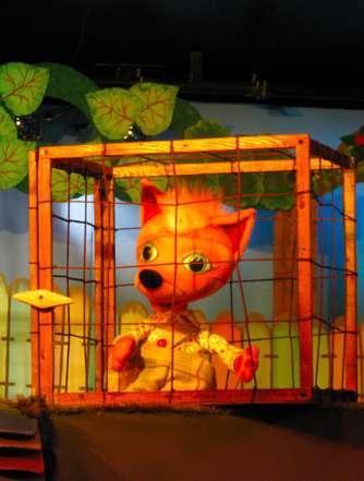 Спектакль «Рыжая сказка» в Калужском театре кукол