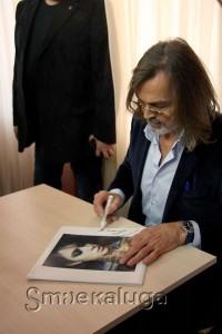 Автографсессия Никаса Сафронова калуга