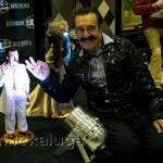 Вилли Токарев со своей куклой калуга