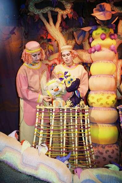Спектакль «Таинственный гиппопотам» в Калужском театре кукол