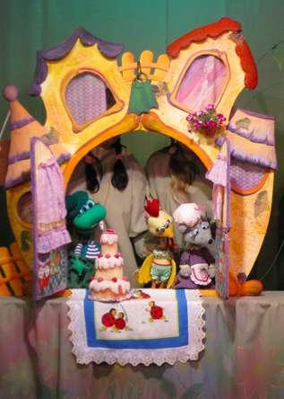 Спектакль «Теремок» в Калужском театре кукол