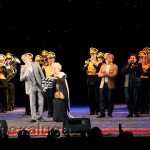 Светлана Дружинина вместе со Святославом Грабовским «ухнули» кинохлопушкой, объявив фестиваль открытым калуга