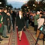 На красной дорожке актриса Анна Леванова калуга