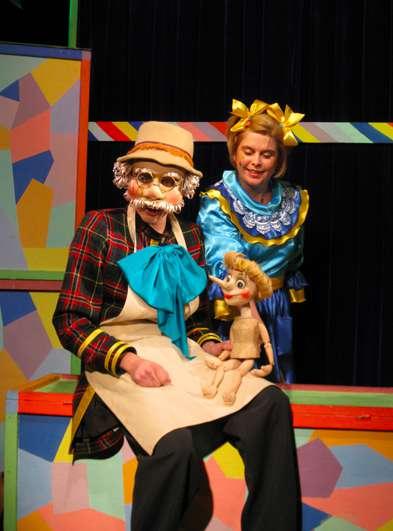 Спектакль «Золотой ключик, или Приключения Буратино» в Калужском театре кукол