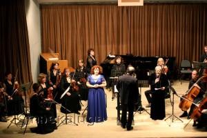 Сольный концерт Елены Шумаевой с Муниципальным камерным оркестром в калуге