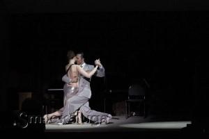 Танцуют Елена Климова и Хуан Мануэль Акоста в калуге