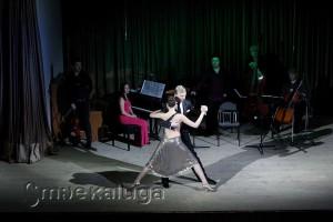 Танцуют Владимир Гусев и Елена Климова дом музыки