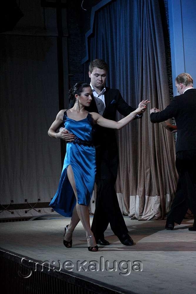 Первый фестиваль аргентинского танго в Калуге открылся концертом в Доме музыки