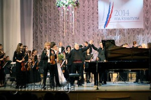 Пианист-виртуоз Александр Маркович и Калужский симфонический молодёжный оркестр калуга