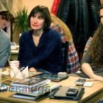 На открытии кофейни: встреча с Мариной Улыбышевой калуга