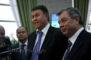 Анатолий Артамонов и Константин Баранов калуга