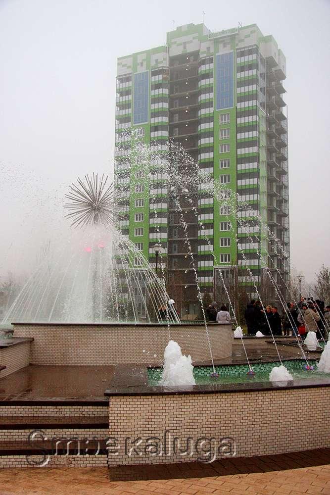 Жилой комплекс «Комфорт-парк» представил готовую парковую зону с фонтаном
