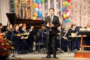 Павел Суслов пожелал удачи конкурсантам калуга