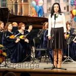 Яна Васина поприветствовала конкурсантов калуга