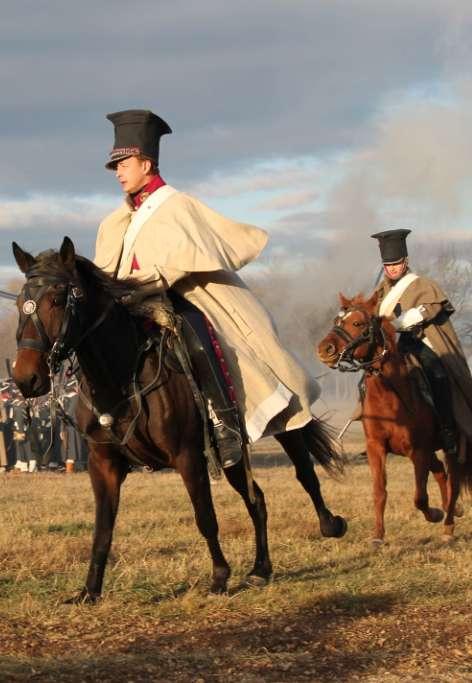 Реконструкция Малоярославецкого сражения 1812 года собрала около 300 участников и несколько тысяч зрителей