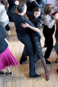 На уроке танго калуга