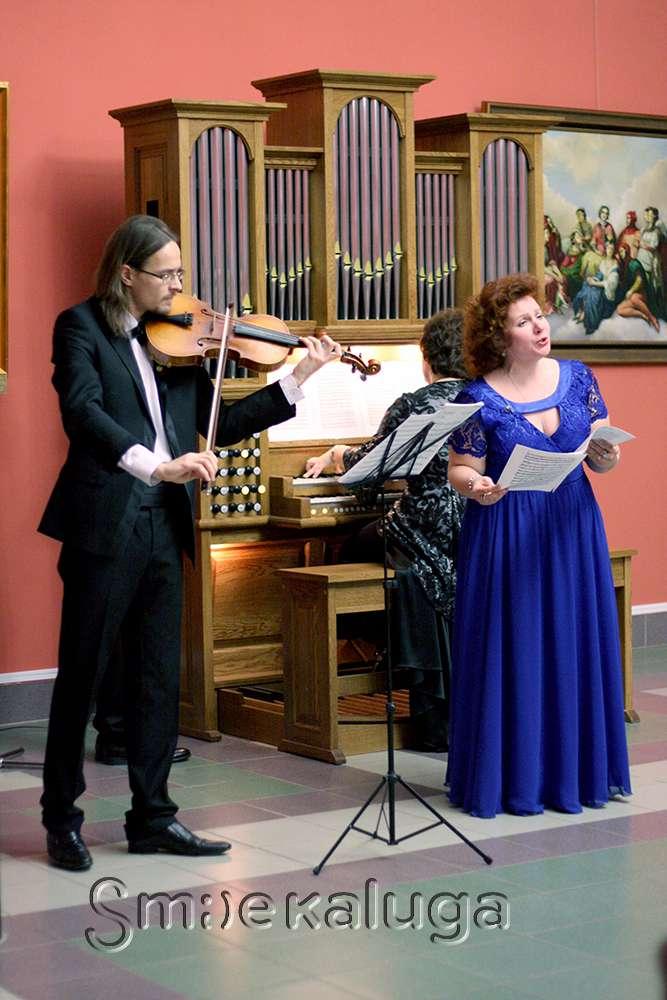 В галерее Калужского музея изобразительных искусств прошёл органный концерт