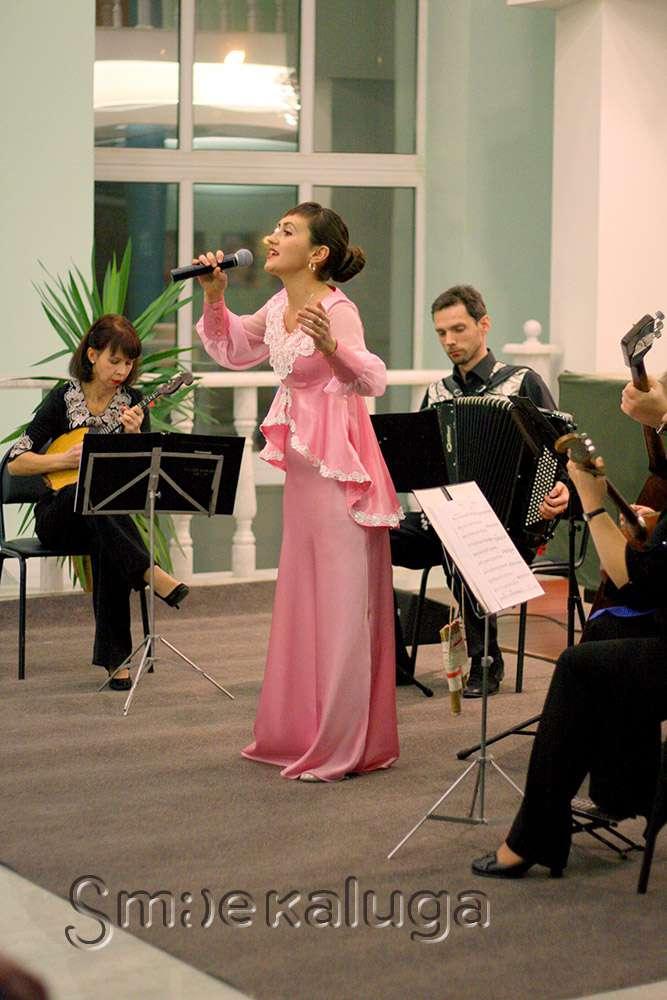 Татьяна Мосина и русский инструментальный ансамбль «Каприс» очаровали калужскую публику