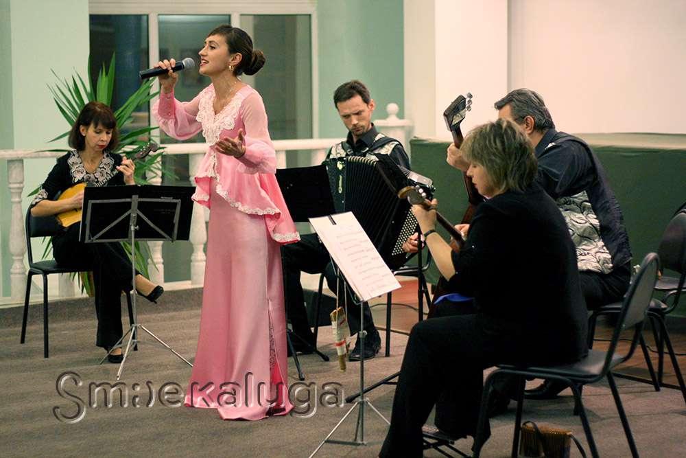 23 марта в Областной филармонии выступит Татьяна Мосина и ансамбль «Калужский сказ»