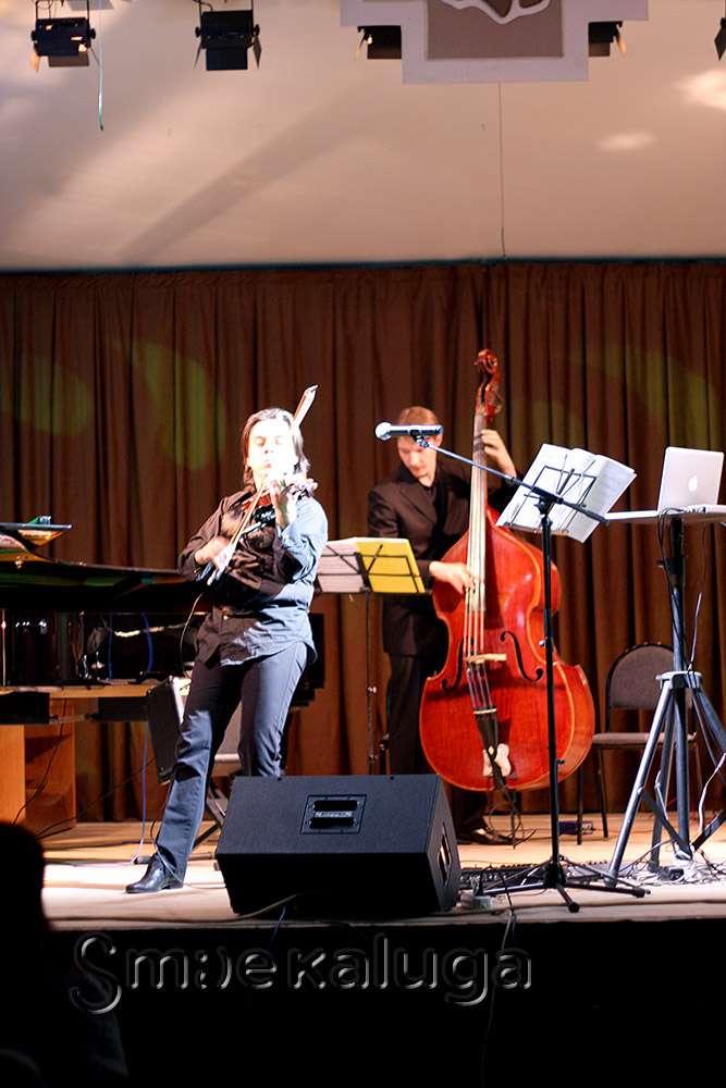 «Moscow violinjazz квартет» представил в Доме музыки программу «Тень Паганини»