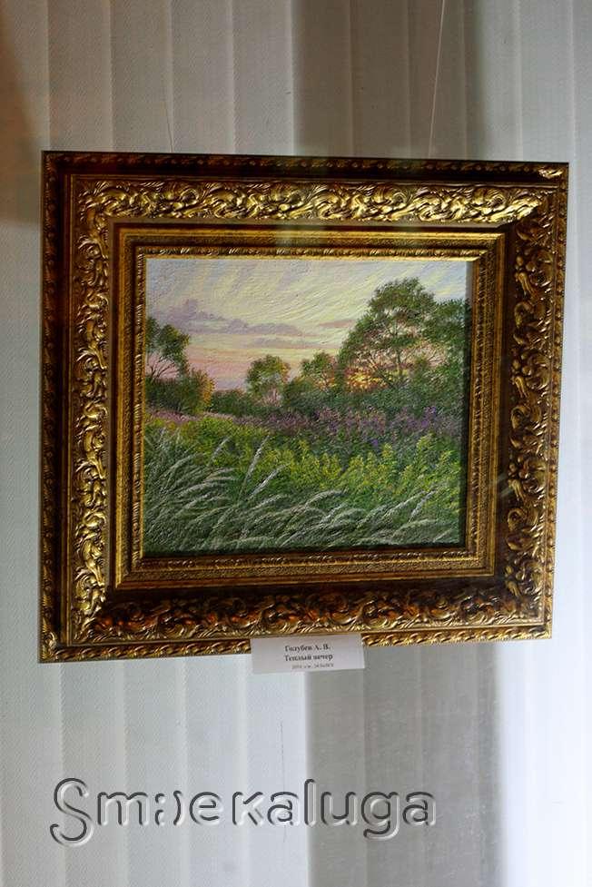 В витрине Дома художника появилась новая экспозиция, посвященная русской природе