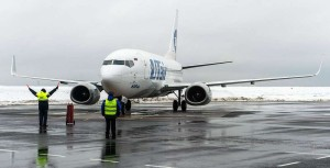 Прибывший Боинг-737 калуга