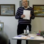 Член калужского отделения Союза российских писателей и член союза художников России Владимир Обухов калуга