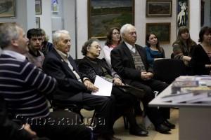 Участники творческой встречи калуга