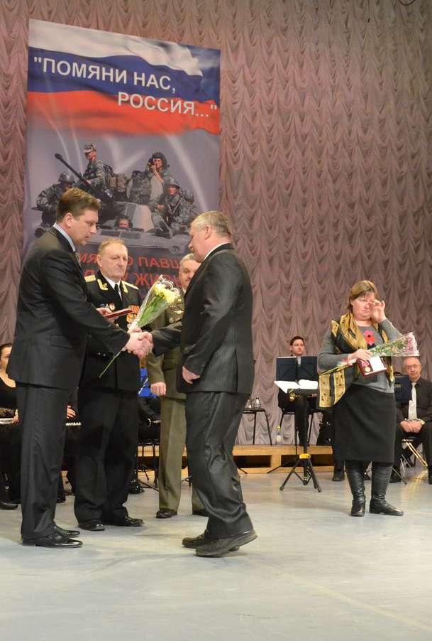 Родителям и вдовам погибших военнослужащих передали памятные медали «Боевого братства»