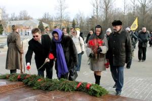 Возложение цветов и венков в День Неизвестного солдата калуга