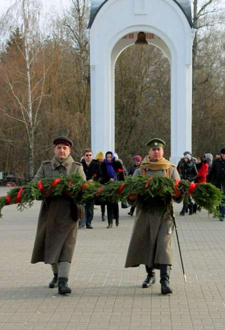 В Калуге впервые отметили День Неизвестного солдата