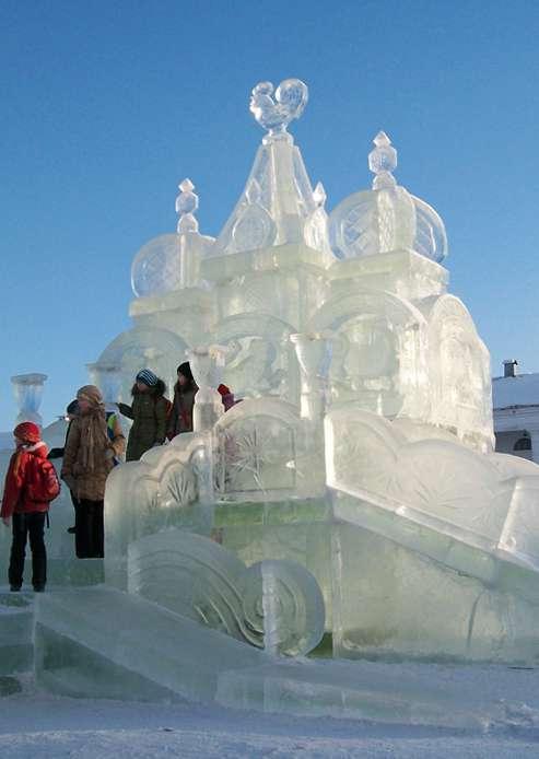 В Центральном парке культуры и отдыха появится ледяной замок