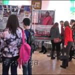 На открытии выставки в малоярославце