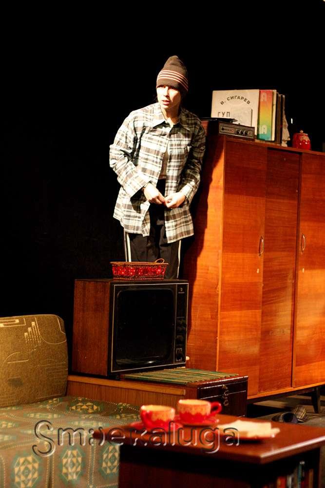 Трагикомедия «Гупёшка» в Калужском областном драматическом театре