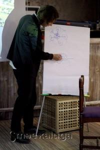 На лекции Ильи Заливухина калуга